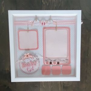 Other - Baby girl shadowbox